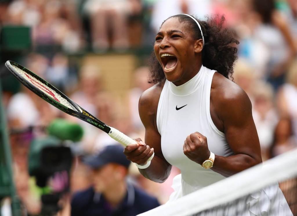 Serena Shouts