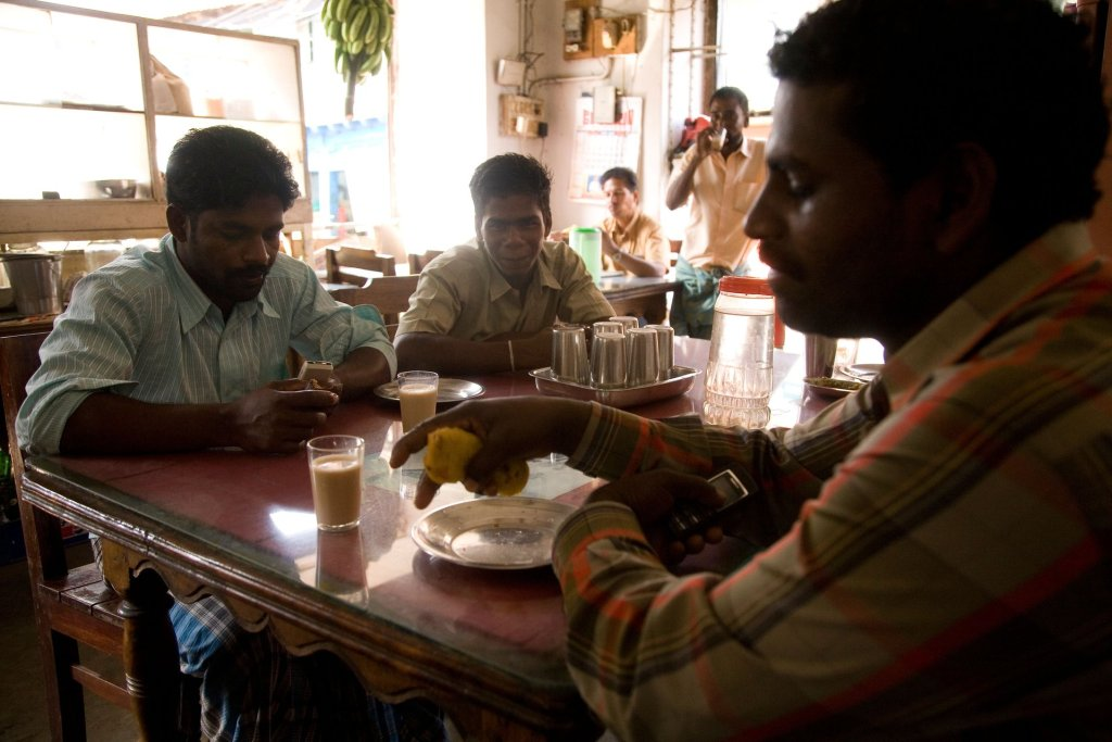 A traditional restaurant in Mattancherry in Kochi, popular with locals. Photograph: Stuart Forster/Alamy