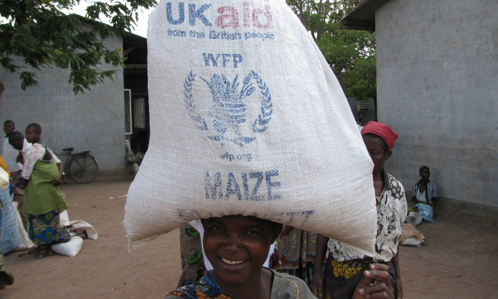 With parts of Malawi facing a food crisis, UK aid has supported the transport of maize and peas from elsewhere in the country. The Brexit fallout threatens to undermine such efforts, says the ODI. Photograph: Gregory Barrow/WFP