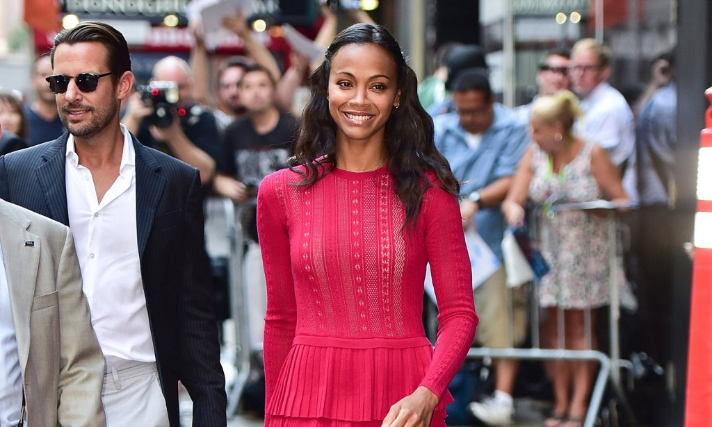 Zoe Saldana and her two sisters run Cinestar Pictures, the production company behind Gone Missing. Photograph: James Devaney/GC Images