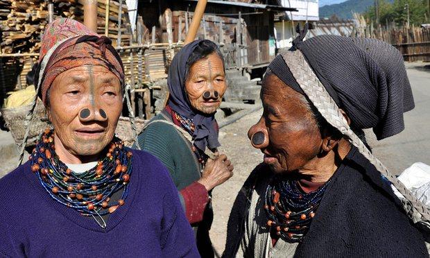 Apatani Village, India. Photograph: AGF/UIG via Getty Images