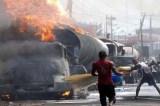 Fuel Tanker Crash Kills Driver, Injures 2