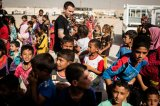 Little Respite For Iraqis Displaced By Mosul Fighting