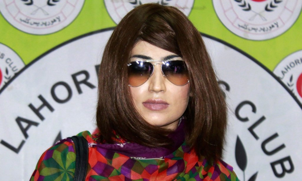 Pakistani social media star Qandeel Baloch was killed by her brother in July, inducing a sense of collective guilt among many in Pakistan. Photograph: STR/AFP/Getty Images