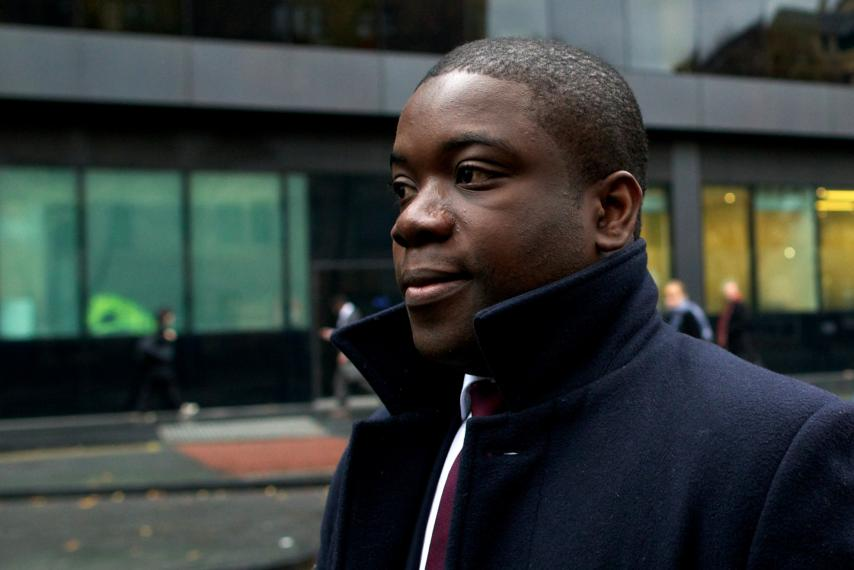 Former UBS trader Kweku Adoboli, pictured during his trial in London, England, November 20, 2012, is facing deportation from the U.K. to Ghana.