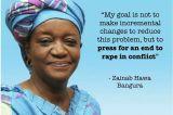 No Home For Sexual Violators – Zainab Hawa Bangura