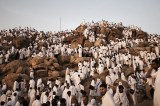 Drones Keep Watch As Pilgrims Ascend Mount Arafat For Hajj Climax