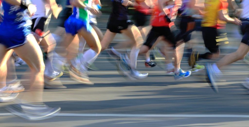 """""""Runners in movement"""""""