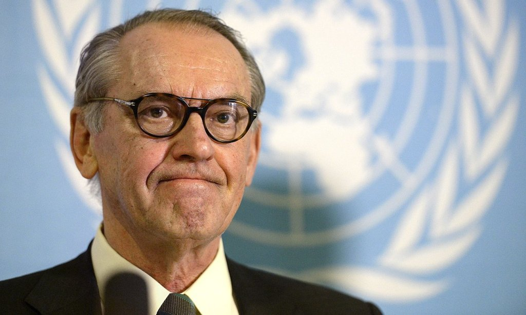 Jan Eliasson: 'When you see children dying of dehydration, dysentery and diarrhoea for want of clean water and sanitation … it's time it was put high on the agenda.' Photograph: IBL/Rex/Shutterstock
