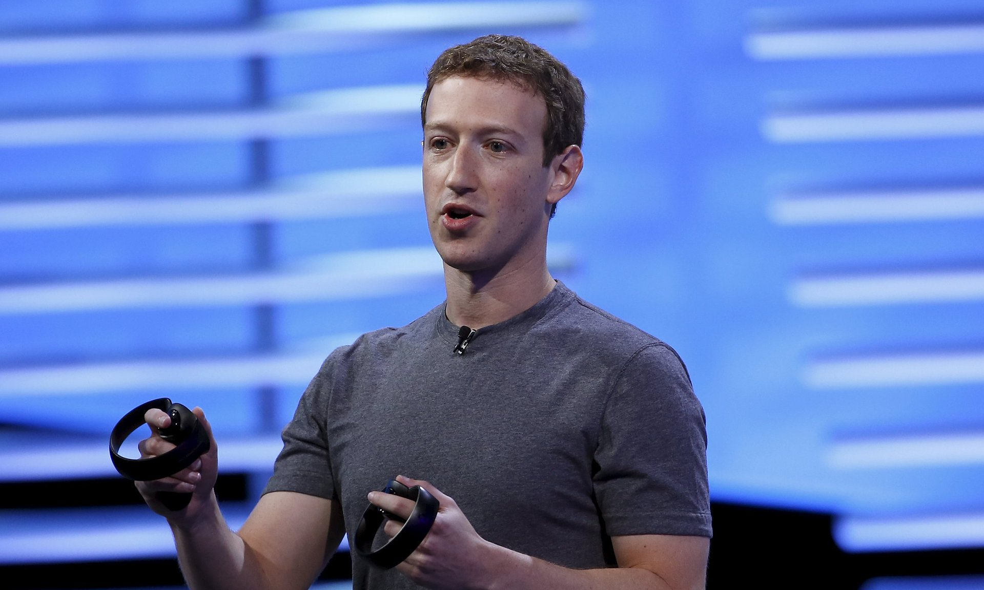 Mark Zuckerberg has refused to acknowledge that Facebook is a publisher. Photograph: Stephen Lam/Reuters