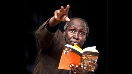 Kenyan author Ngũgĩ wa Thiong'o (EPA/DAI KUROKAWA)