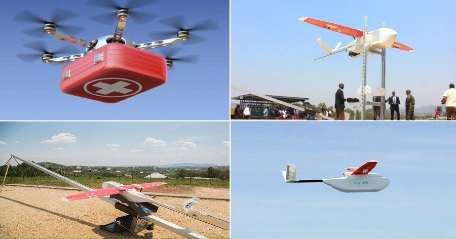 rwanda-launches-drones-to-deliver-medical-supplies