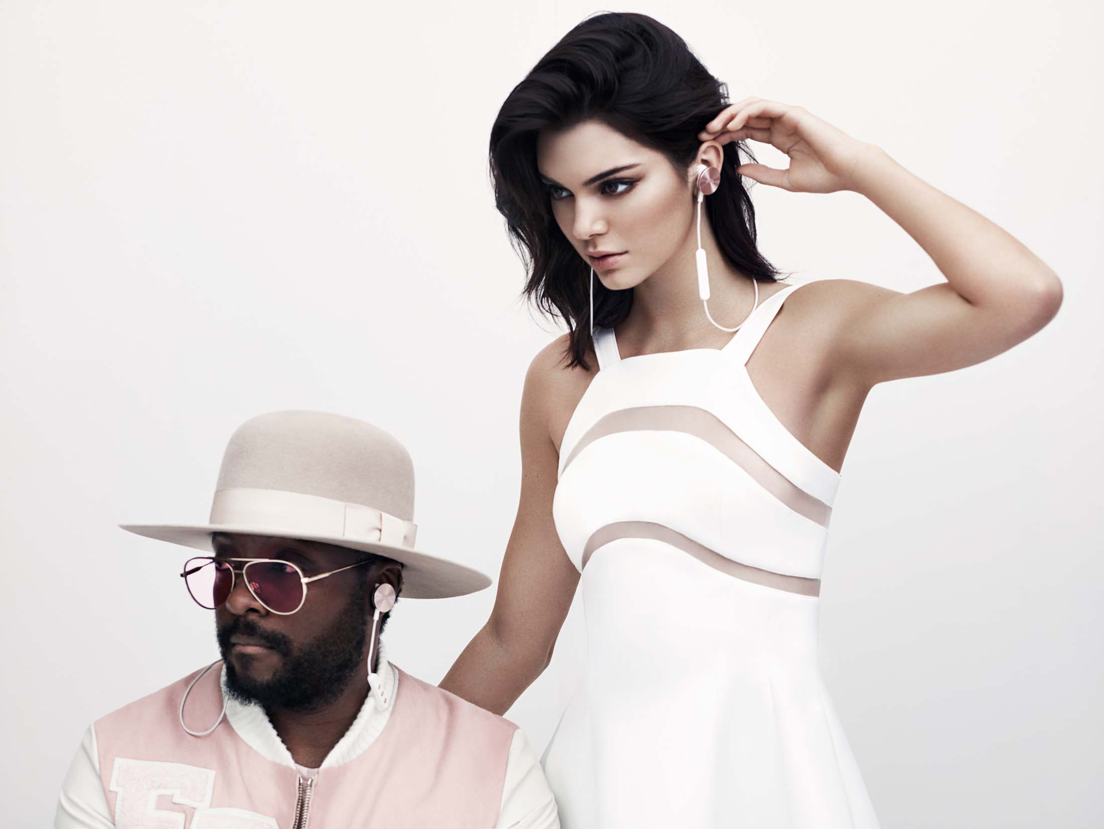 Will.i.am and Kendall Jenner. Source: i.am+
