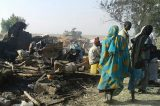 236 People Buried After IDP Camp Bombing By Nigerian Jet