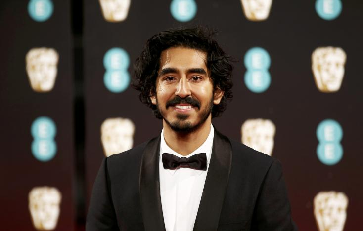 FILE PHOTO - Dev Patel arrives for the British Academy of Film and Television Awards (BAFTA) at the Royal Albert Hall in London, Britain February 12, 2017. REUTERS/Peter Nicholls/File Photo.
