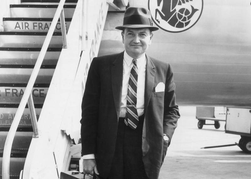 David Rockefeller at New York International, 1963. Source: Hulton Archive/Getty Images via Bloomberg.
