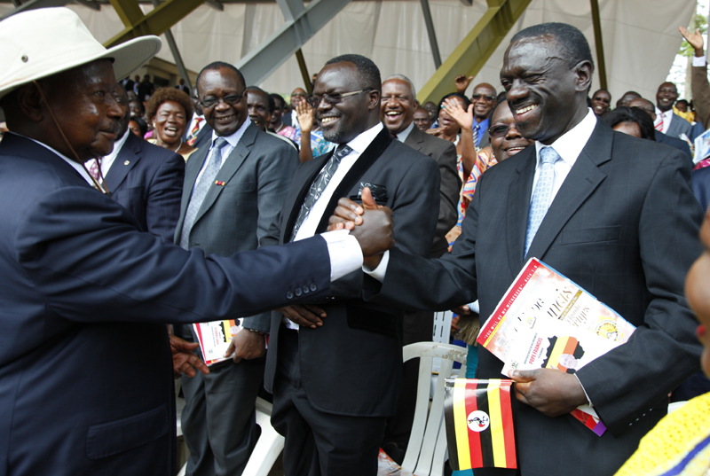 Museveni and Besigye