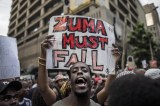 Protesters Gather in South Africa for Second Anti-Zuma March