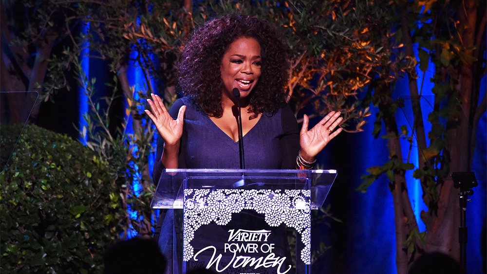 Mandatory Credit: Photo by Rob Latour/Variety/REX Shutterstock (5226224bj) Oprah Winfrey Variety's Power of Women, Show, Los Angeles, America - 09 Oct 2015