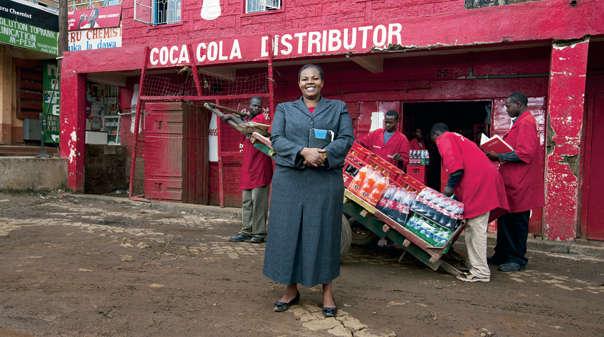 coca cola, liberia