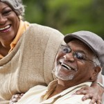 Senior African American couple