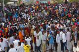 Tens of Thousands March To Protest Mogadishu Bombing
