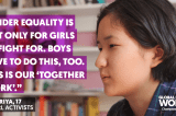 Empowering Girl Activists Through Art