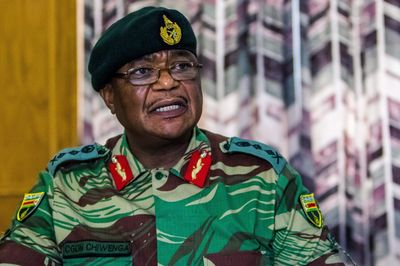 Constantino Chiwenga Photographer: Jekesai Njikizana/AFP via Getty Images