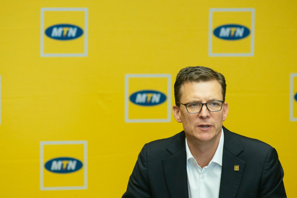 Rob Shuter, CEO of MTN. Pic: Waldo Swiegers / Bloomberg