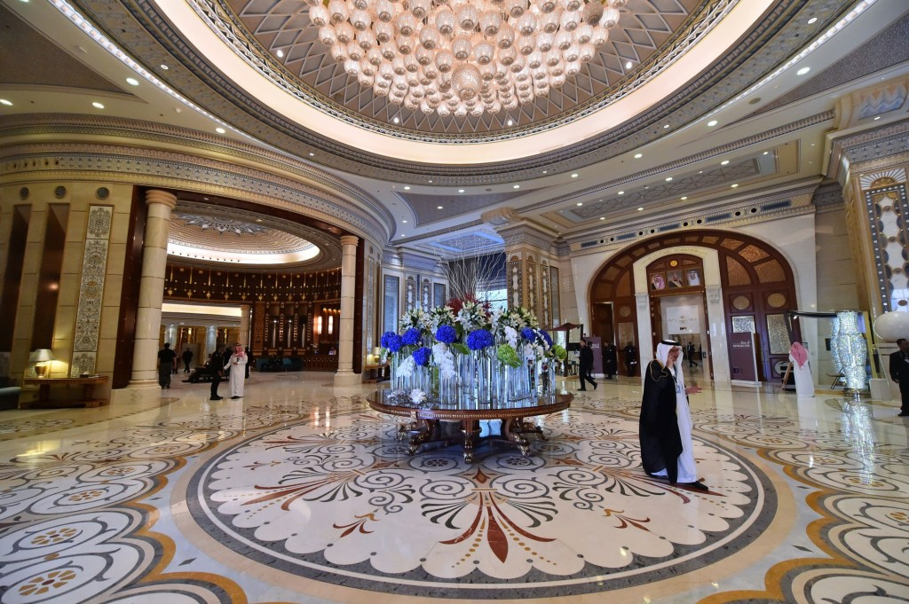 Ritz-Carlton in Riyadh Photographer: Giuseppe Cacace/AFP via Getty Images
