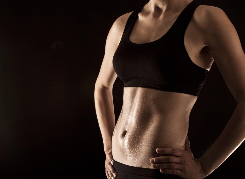 flat-belly-abs-women