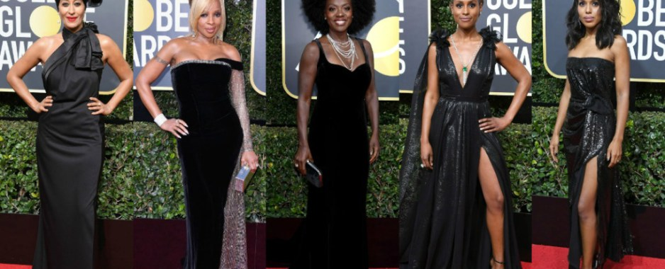 'Black Theme' At Golden Globes To Intensify That Time's Up