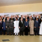 Family photo during High Level Conference on the Sahel in Brussels, Belgium, 22 February 2018. The conference, co-chaired by the European Union, the United Nations, the African Union and the G5 Photo: EPA-EFE/STEPHANIE LECOCQ