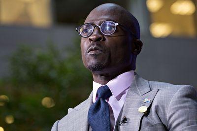 Malusi Gigaba Photographer: Andrew Harrer/Bloomberg