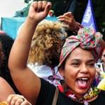 Women in Brazil march for women's rights. Photo: UN Women/Bruno Spada