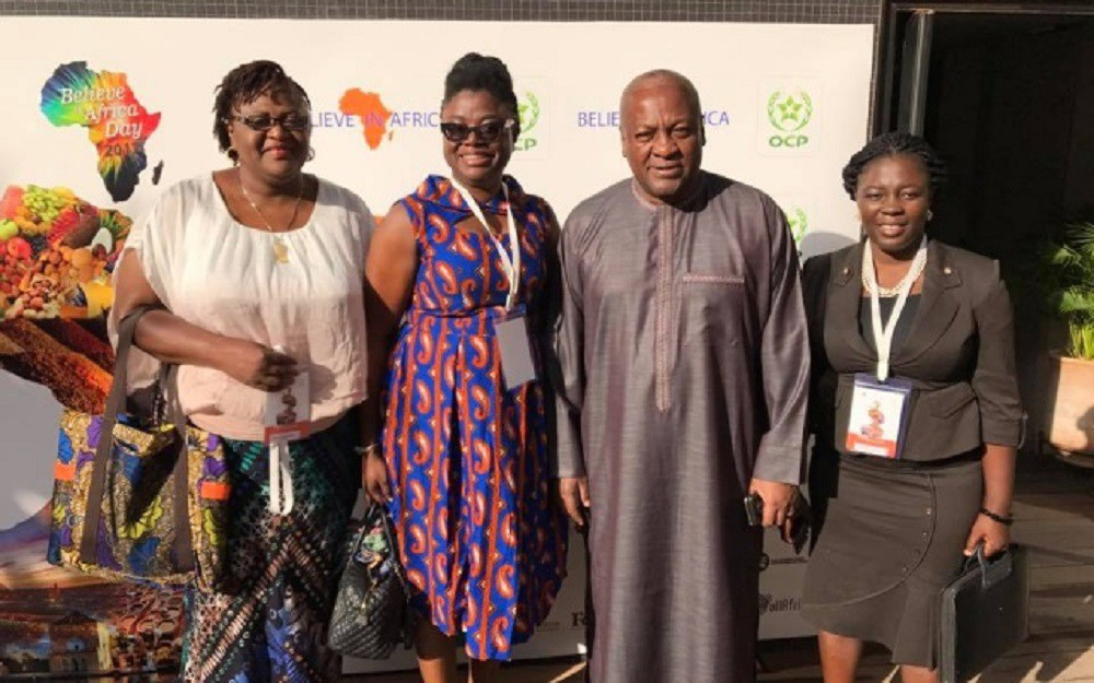 Prez-Mahama-in-Marrakech-for-Women-In-Agriculture-summit
