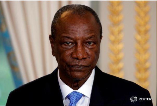 Guinea's President Alpha Conde. REUTERS/Philippe Wojazer