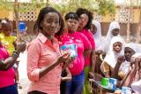 Lexta Ghana Donates Sanitary Pads To Female Students