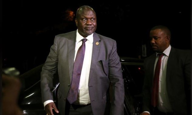 South Sudan rebel leader Riek Machar arrives at the national palace to negotiate with South Sudan President Salva Kiir in Addis Ababa, Ethiopia June 20, 2018. REUTERS/Tiksa Negeri