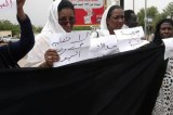 Women Protest Drowning of Children At Khartoum Ministry