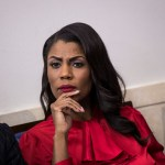 WASHINGTON, DC - OCTOBER 27: Director of Communications for the White House Public Liaison Office Omarosa Manigault listens during the daily press briefing at the White House, October 27, 2017 in Washington, DC. (Drew Angerer/Getty Images)