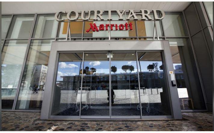 Marriot hotel in Montpellier, France, file. REUTERS/Jean-Paul Pelissier