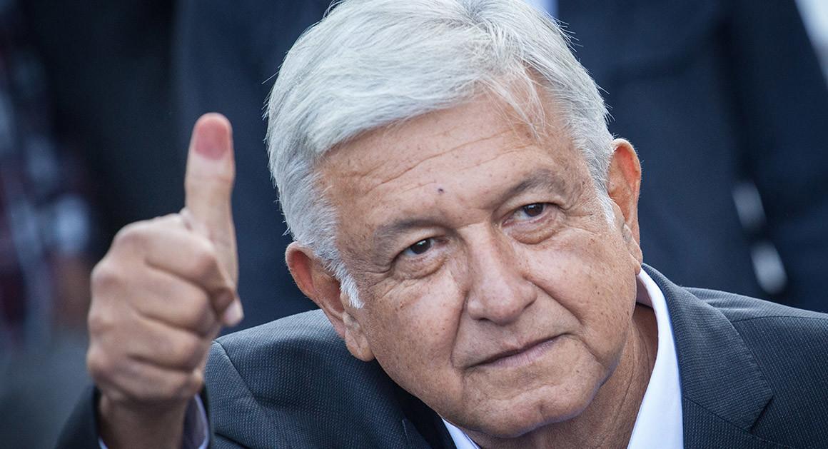 President Andres Manuel Lopez Obrado
