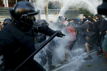 Tensions In Catalan As The Spanish Government And Catalonia Administration Disagree