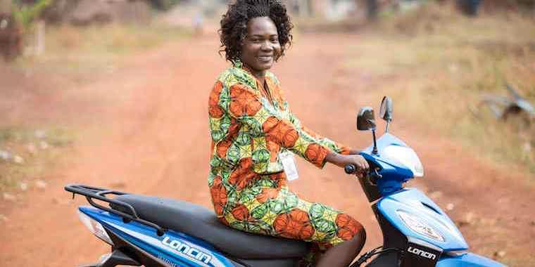South Sudan 'Superhero' Christine Ngbaazande Wins Award For Work With Children Born Of Rape