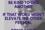 Monday On The Go : Be Kind