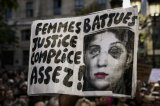 Hundreds Protest In Paris Against Deadly Domestic Violence