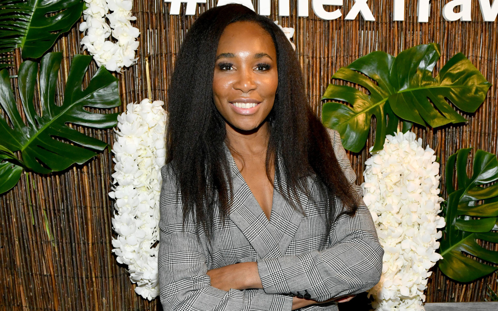 NEW YORK, NEW YORK - NOVEMBER 07:  Venus Williams hosts an immersive experience presented by American Express Travel at the Greenwich Hotel on November 7, 2019, in New York City. (Photo by Craig Barritt/Getty Images for American Express)