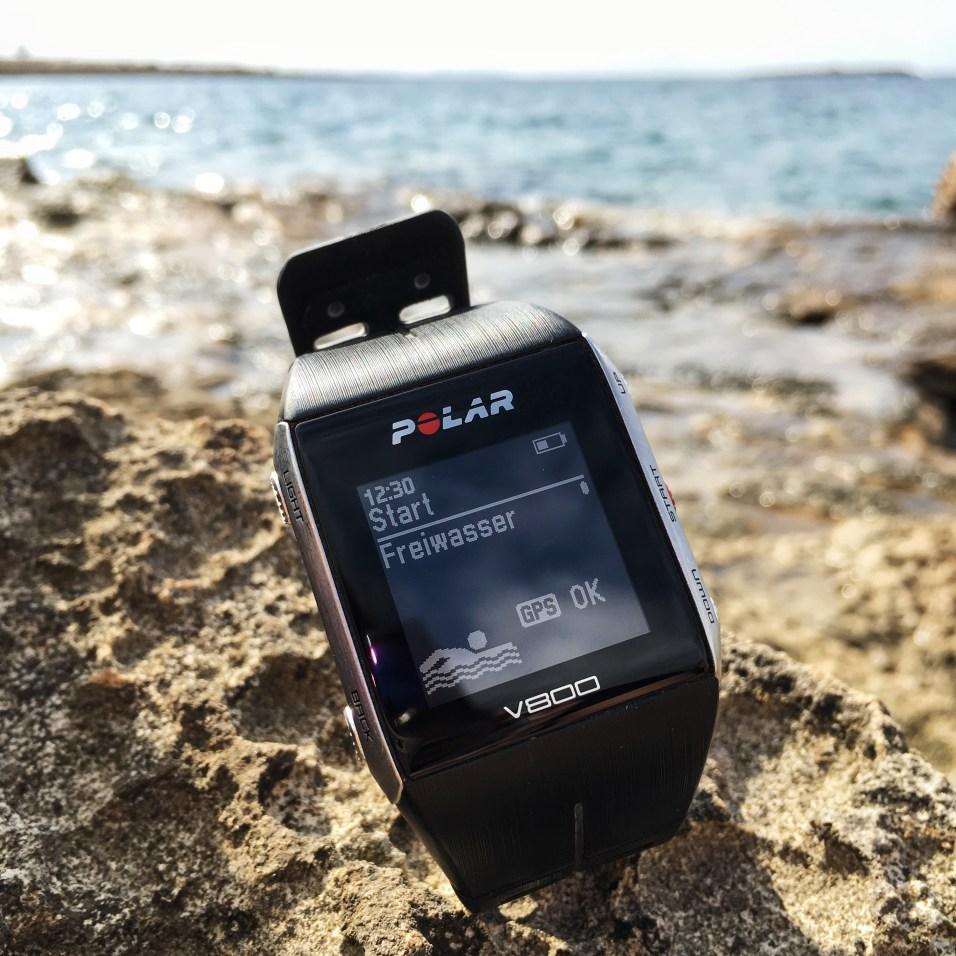 Freiwasser Schwimmen + GPS