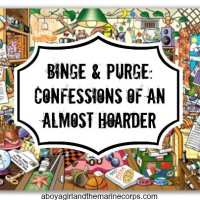 Binge and Purge: Confessions of an ALMOST Hoarder